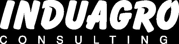 Logotipo en branco de INDUAGRO Consulting